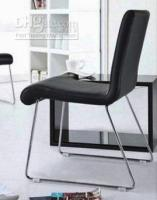 Wholesale PU chair with chrome frame armless metal chair high quality competitive price