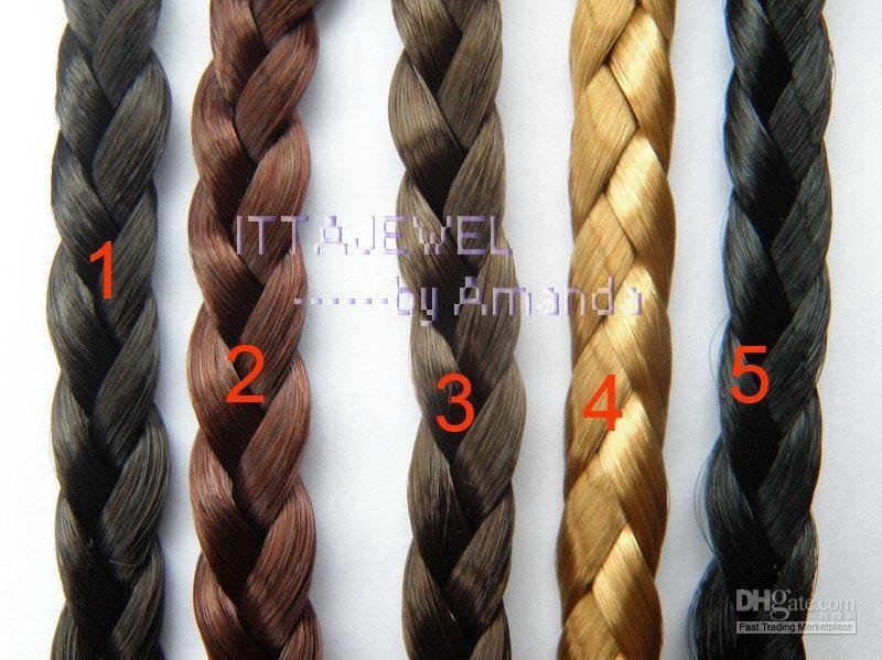 Wholesale CM Width braided plaited hair band Headband
