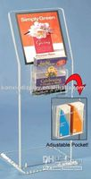 Wholesale a9 Acrylic Brochure Holder acrylic book holder acrylic display Brochure Holder