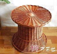 Wholesale Natural wicker tea table willow sofa wicker furniture rattan furniture straw furniture