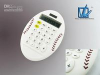 Wholesale promotional calculator rugby ball shape calculator digits calculator children cute