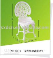 Wholesale Guaranteed factory outlet plastic luxury combination chair