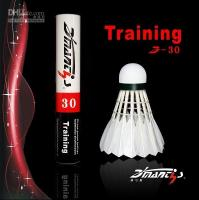 Wholesale brand new Training badminton shuttlecock D
