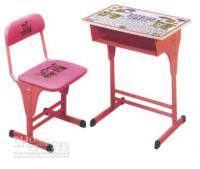 Wholesale kid s adjustable desk and chair school furniture