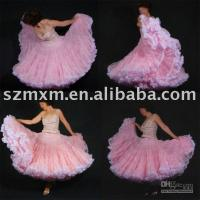 Wholesale 2013 CZ026 new style pink color colourful flamingo petticoat