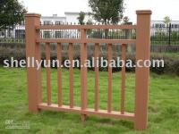 Wholesale wpc fence wpc decking