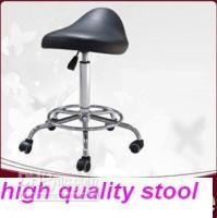 Wholesale NEW no min order limit black Saddle Salon Massage lab office computer Stool Chair for office hospital spa and home use