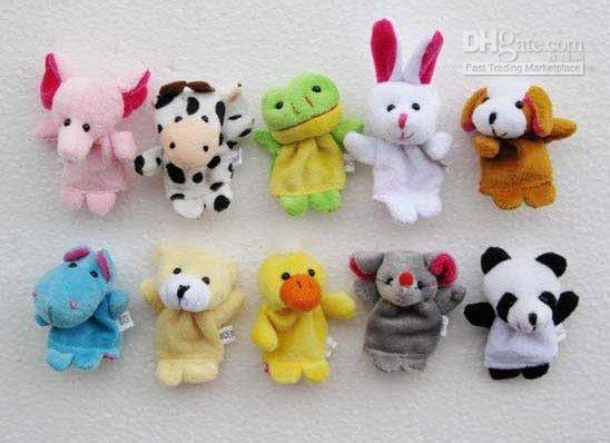 Wholesale Best Price Lovely Props styles set Hand Finger Puppet FRE