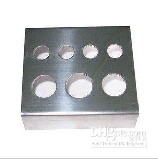 Wholesale Tattoo Stainless Steel Tattos Ink Cap Cup Holder For Needles Sale
