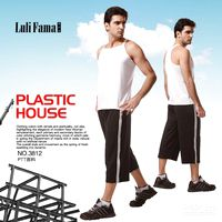 Wholesale men s gym fitness yoga body building wears vest pants hotitem