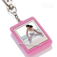 Wholesale PINK LCD Digital Photo Frame USB Key Chain MB gemma