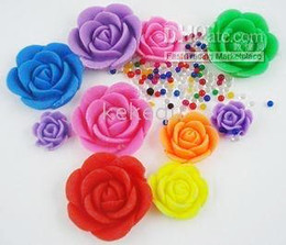 Factory price rose crystal soil ,crystal mud,water beads ,software ice 100pcs lot