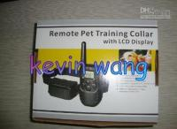 Wholesale 6pcs remote pet training collar with led display pet training collar pet collar