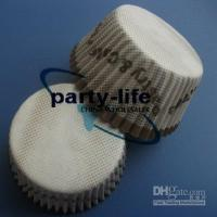 Wholesale Brown tart cake chocolate paper cases cupcake with words pastry amp cake total Diameter is cm box
