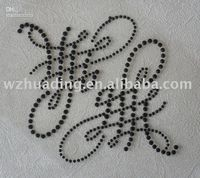 Wholesale 2010 hotsell High Quality Crystal Tattoo Stickers