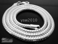 Wholesale Sterling Silver Snake Chain Strong Men s Necklace Chain MM