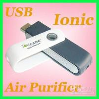 Cheap USB Computer mini Ionic Air Purifier Ionizer Cleaner (Oxygen Bar) Reduce the radiation and dust Free Shipping