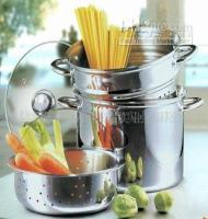 Wholesale stainless steel pasta cooker spaghetti cooker steamer sets