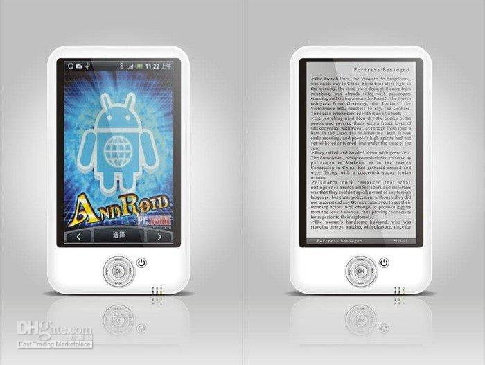 Wholesale drop shipping M001 Ebook Reader Google Android inch Mini UMPC MID Laptop PDA Netbook