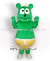 Wholesale New Gummy Bear Mascot Costume Factory low Price