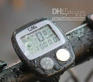 Wholesale LCD Bike Bicycle Cycle Computer Odometer Speedometer NR
