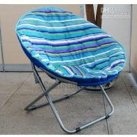 Wholesale Brand New High Quality Fast Shipping Piece Unique Gift Promotional Item Folding Portable Camping Beach Chair Moon Chair
