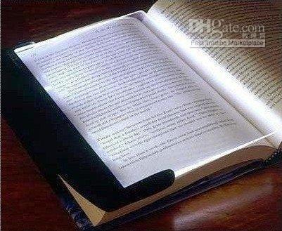 Чтение панели Цены-Бесплатная доставка новинка LED Night чтение книг световой панели Lightwedge Мягкая обложка
