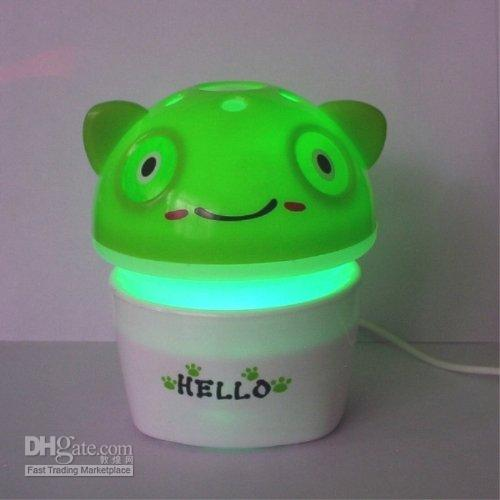 Wholesale Aromatherapy Nightlight Frog USB fragrance lamp oil lamp insect repellent lamp perfume bottle