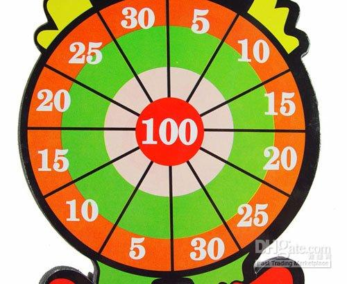 Wholesale child children toy magnetic darts sports leisure darts six bodyguard