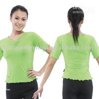 Wholesale Short Sleeve Top gym clothing m5
