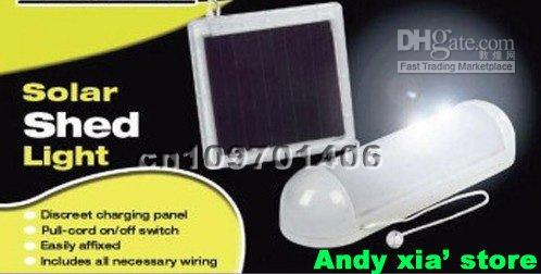 Wholesale Solar shed light solar wall lamp solar indoor light good for houe using