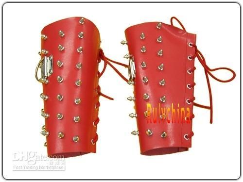 Cheap Bondage Arm Gloves (Leather Gear Adult sex toy) HL36-2