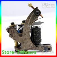 Wholesale hot sell Handmade Damascus Tattoo Machine Natural Pattern of Stainless Steel