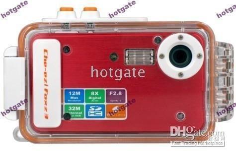 Wholesale take photo underwater Z68 Slim Digital Camera Waterproof Camera MP x digital zoom