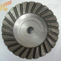 Wholesale 5 aluminum cup wheel For granite and marble and concrete grinding Wet using Diameter is mm