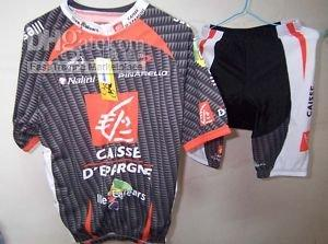Wholesale CAISSE D`EPARGNE CYCLING CYCLING JERSEYS+SHORTS SZ XXL
