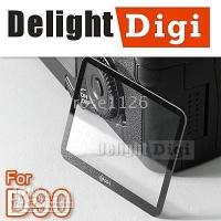 Wholesale for Nikon D90 Free Ship GGS LCD Screen Protector Rigid glass O6W hot sale