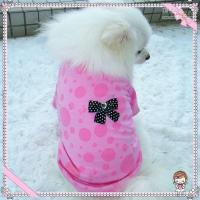 Wholesale dog tshirt pet apparel puppy vest clothes red