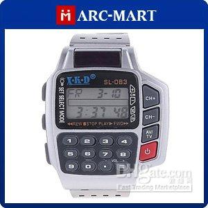 Wholesale Hot Digital Remote Control Wrist Watch for TV VCR DVD VCD SAT UC072