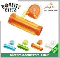 Wholesale novelty gifts Tube Toothpaste Squeezer Plastic Dispenser with Sucker gemma