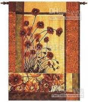 Wholesale Product High Quality Wall Hanging Tapestry Wall Decoration Art Poppy Flower Tapestry Best Gift Hot