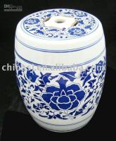 Wholesale Small Porcelain Garden Stool WRYAZ206
