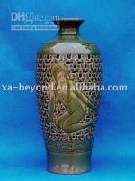 Wholesale black figure pottery vase