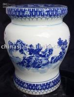Wholesale Blue and White Porcelain Garden Stool WRYAY211