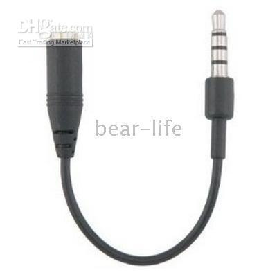 Wholesale for G mm to mm Earphone Adapter Cable hot selling