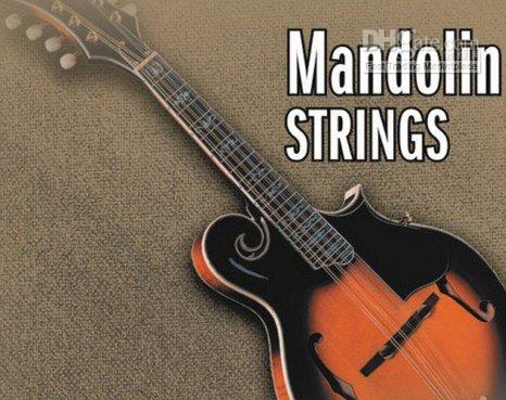 Wholesale 10 sets Mandolin Strings Loop End Silver Plated Copper Wound GDA M03 Loop