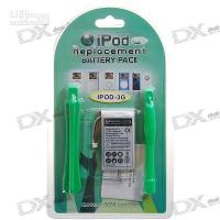 Wholesale 850mAh V Replacement Lithium Battery with Tools for rd Generation iPod hot