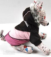 Wholesale Cotton Plush Dog Down Coat Winter Pet Clothes Hoodie