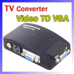 2017 convertisseurs vidéo Vidéo pour PC VGA Convertisseur Adaptateur Interrupteur de Sécurité du système convertisseurs vidéo promotion