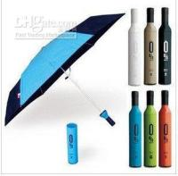 Wholesale Isabrella Corporate Gifts Deco Umbrella in Wine Bottle Fashion Umbrella Novel Gift